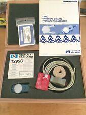 Hp 1290c Quartz Pressure Transducer Hewlett Packard Includes 6 X 1295c Domes