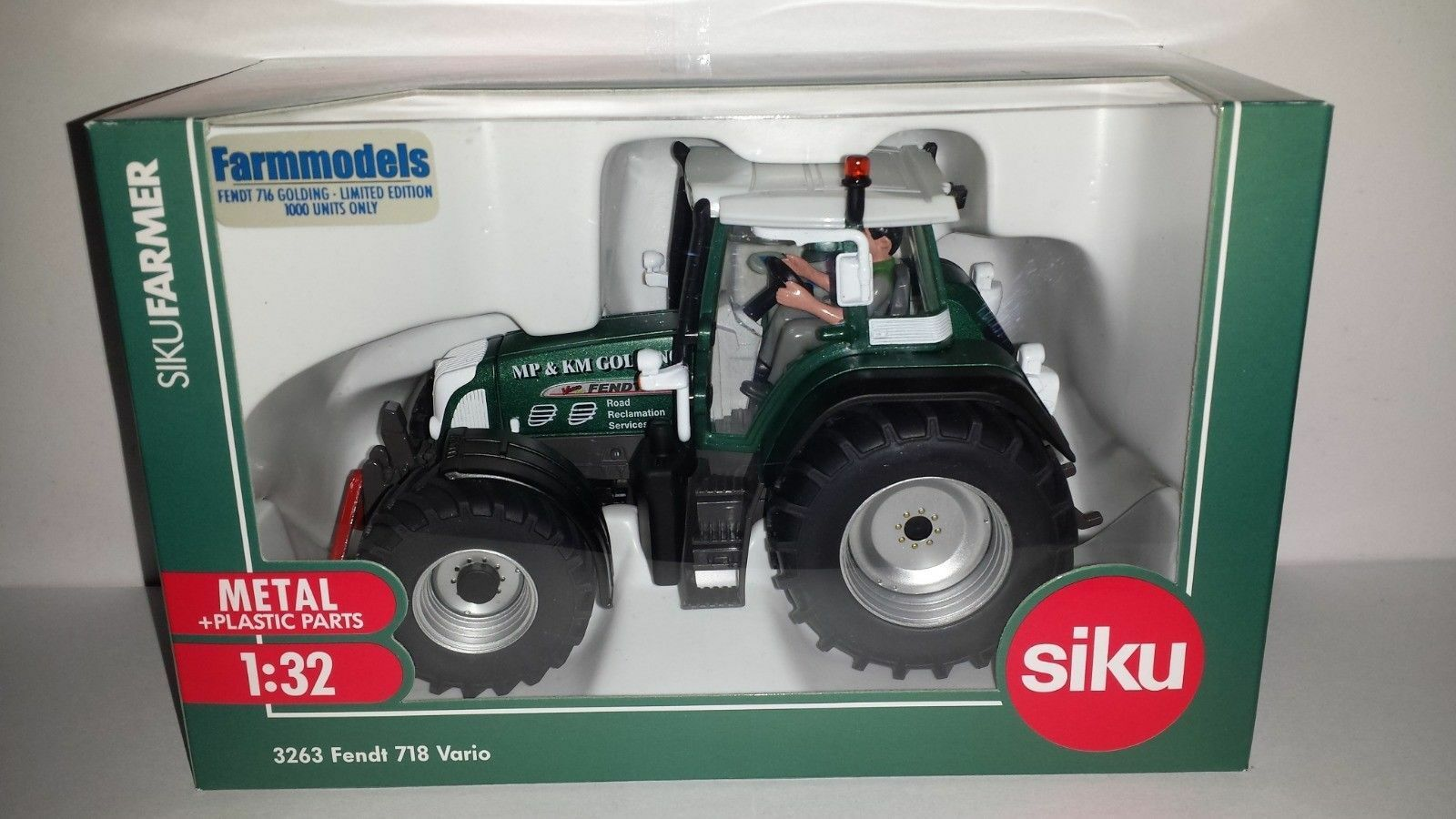 3263 Limited Edition Siku Fendt 716 tractor MP KM golding BOXED 1 32