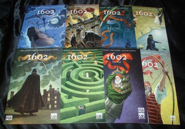 Classic Neil Gaiman Marvel Comics 1602 Series - Avengers, X-Men, Dr. Strange