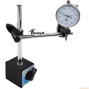 Base magnetica con comparatore centesimale tornio utensili mandrino a4 ebay - Comparatore a finestra ...