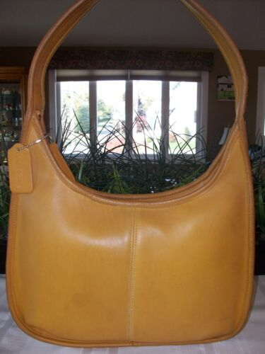 Coach Leather Ergo Zip Hobo Shoulder Bag Vintage 1