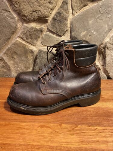 """Red Wing Work Boots Steel Toe 6"""" Men's Size 6.5 D"""