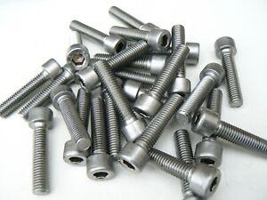 15 vis CHC btr tete cylindrique 6 pans creux M10 x 35mm inox A4 c163