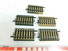 AT736-0,5# 5x Märklin Pista modello H0/AC Pezzo di accomodamento/Pezzi 3900