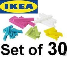 IKEA BEVARA 30 sealing clips food storage bag seal freezer dishwasher safe