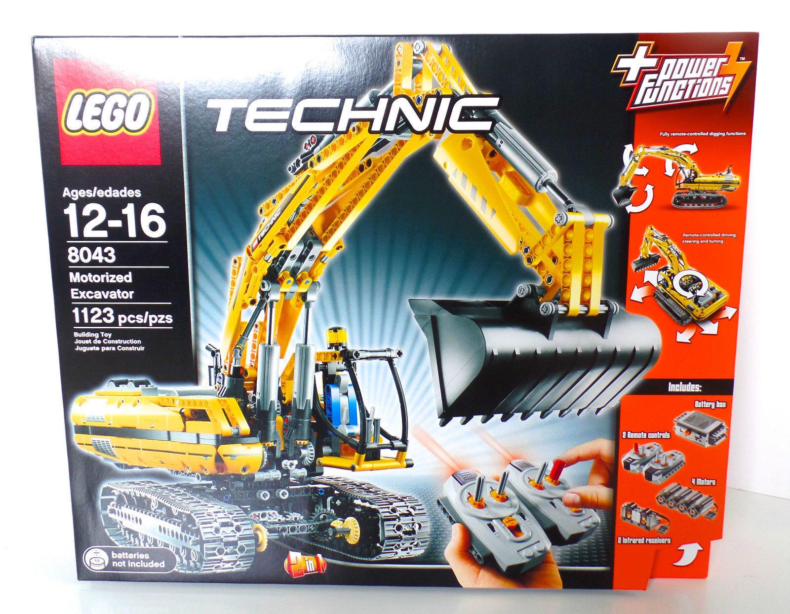 LEGO TECHNIC  8043 motorisé Excavateur Neuf Scellé