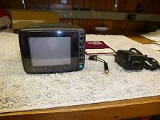 "Magnavox 5"" Portable Color TV / Monitor Model RD0510 with Power Adapter"