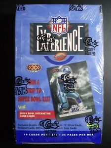 1996-Classic-Football-NFL-Experience-Box-Factory-Sealed-24-Packs