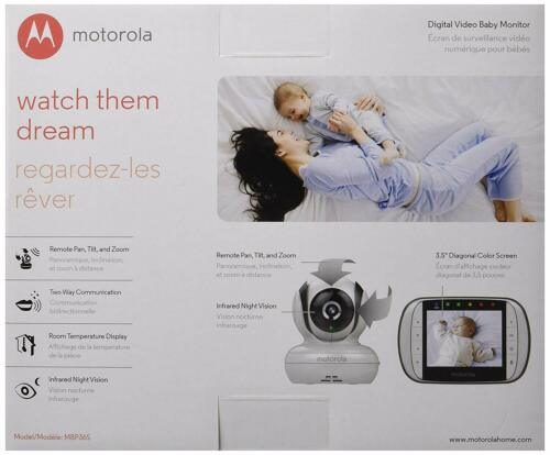Baby Monitor Motorola MBP36S Remote Wireless Video Baby Monitor