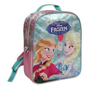Disney-FROZEN-Mochila-25x30cm-Elsa-Anna-Nuevo-Original-Nuevo