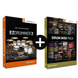 toontrack ezdrummer 2 drum midi pack of choice serial download ebay. Black Bedroom Furniture Sets. Home Design Ideas