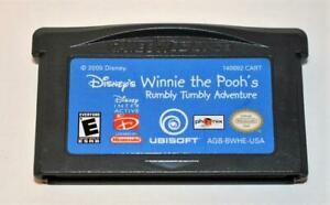 WINNIE THE POOH'S RUMBLY TUMBLY ADVENTURE NINTENDO GAMEBOY ADVANCE SP GBA