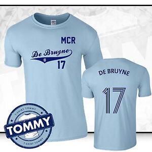 premium selection 95ee3 e85f7 Details about Man City Kevin De Bruyne #17 T-Shirt, De Bruyne tshirt, man  city tshirt