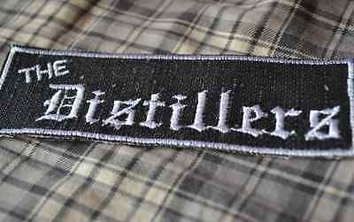 The Distillers Embroidered Iron-On Punk Patch