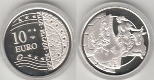 Coffret 10 Euros argent Belgique 2004
