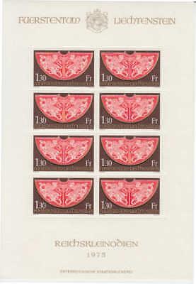 Neueste Mode 634 Postfrisch/** Als Kleinbogen Michel-nr mini-sheet / Mnh Liechtenstein