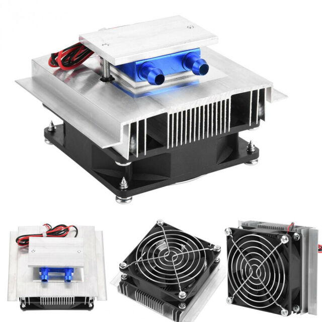 12v 50w Thermoelectric Peltier Semiconductor Refrigeration Cooling System  Cooler