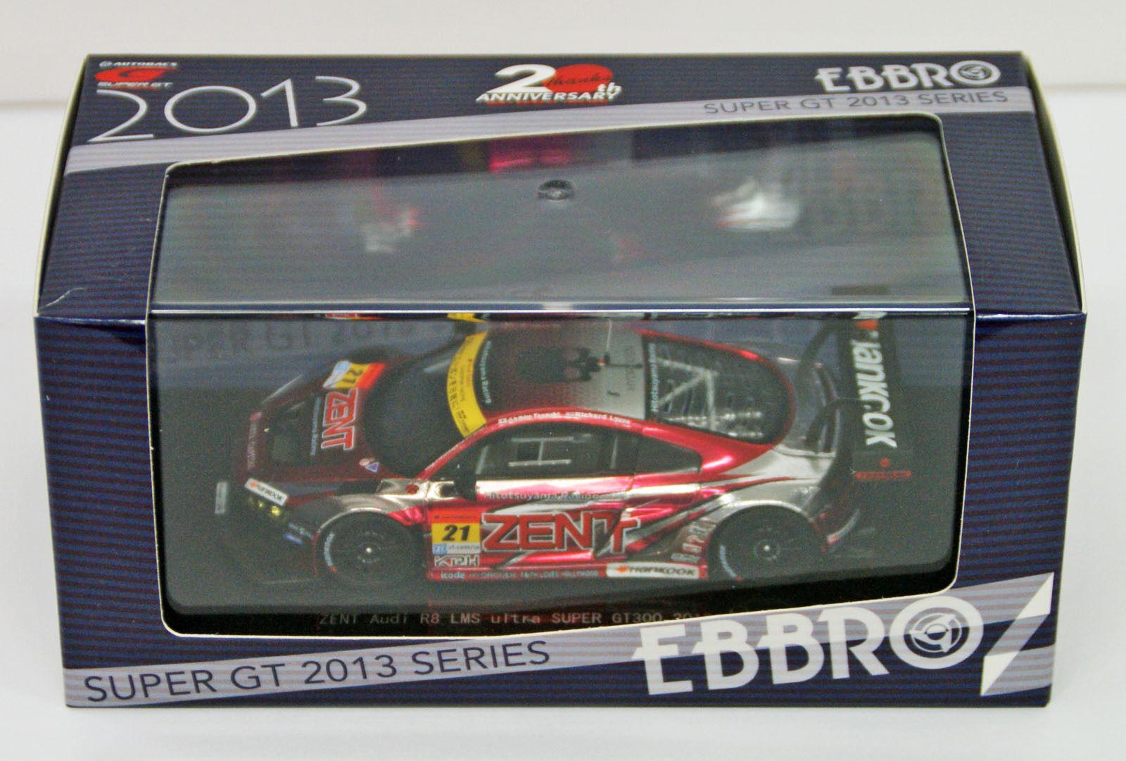 Ebbro 44931 Zent AUDI R8 LMS Ultra Super GT300 2013 (Modelo de Resina) escala 1 43