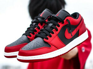 air jordan 1 low rouge