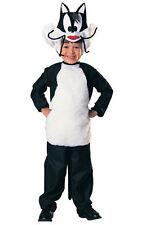Con Licenza SYLVESTER CAT LOONEY TUNES Bambini Ragazzi Costume Libro Settimana Costume 4-6