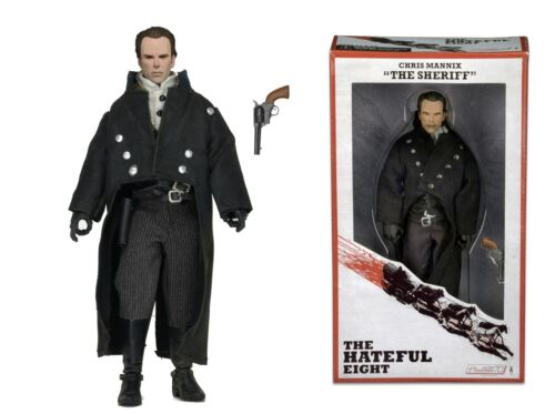 """8/"""" Figure//Doll Clothed NECA The Hateful Eight Sheriff Chris Mannix The Sheriff"""