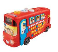 Interactive Playtime Bus Educational Toy With Phonic Sounds Numbers Vocabulary