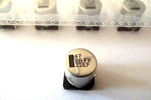 8 pezzi EEVFK 2a470q 20/% 47uf Panasonic 100v -55 +105 ° SMD//SMT Elko 47µf