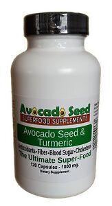 120-Raw-Avocado-Seed-Turmeric-Capsules-Digestion-Inflammation-Fiber-More