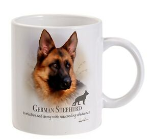 Ceramic Great Gift for an Alsatian Lover Boxed German Shepherd Dog Mug