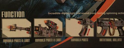 rotary balles 65CM feu sound AK-47 cyber mission gun avec feu clignotant