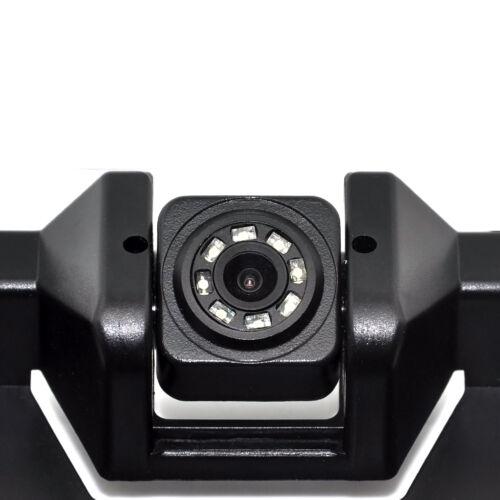 2 Reversing Radar Parking Sensors EU Car License Rearview Camera Plate Frame