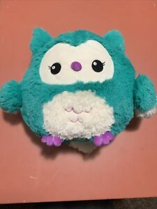 "Squishable 8"" White / Teal / Purple Owl"
