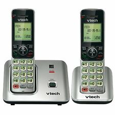 VTech CS6619-2 DECT 6.0 Cordless Phone 2 Handset included Caller ID/Call Waiting