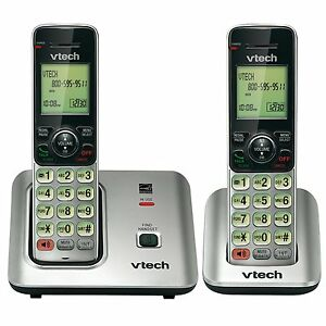 VTech-CS6619-2-DECT-6-0-Cordless-Phone-2-Handset-included-Caller-ID-Call-Waiting