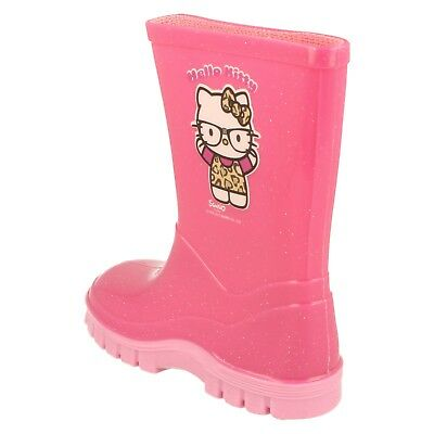 Niñas Sin Marca Wellington-Hello Kitty