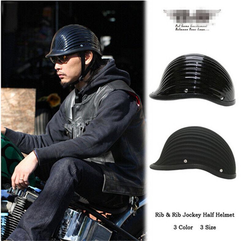 Cool Japan TT&CO 828GB WWII Style Bike FRP Motorcycle Half Helmet Retro Helmet