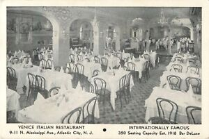 Image Is Loading Interior View Venice Italian Restaurant 9 N Mississippi