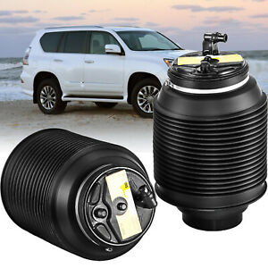 2x-Rear-Left-Right-Air-bag-Springs-fit-Toyota-Landcruiser-Prado-120-Series-03-09