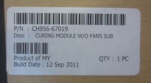 NEW-CH956-67019-Curing-module-without-FANS-and-heaters-for-60-034-plotters