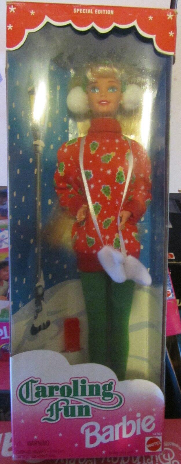 Barbie Caroling Fun Special Edition NRFB Mattel Mattel Mattel SPESE GRATIS 664737