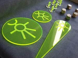 Warhammer 40k 40000 blast templates dices tactical bundle necron image is loading warhammer 40k 40000 blast templates dices tactical bundle pronofoot35fo Choice Image