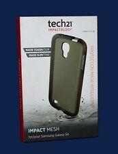 100% Genuine Tech 21 d3o Impact Mesh chiaro Shell Case per Samsung Galaxy s4 NUOVO!!!