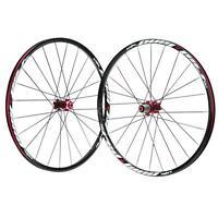 26'' 24h Disc Brake Bike Wheel Bicycle Bike Wheelset Hubs Rim Front Rear U8s0