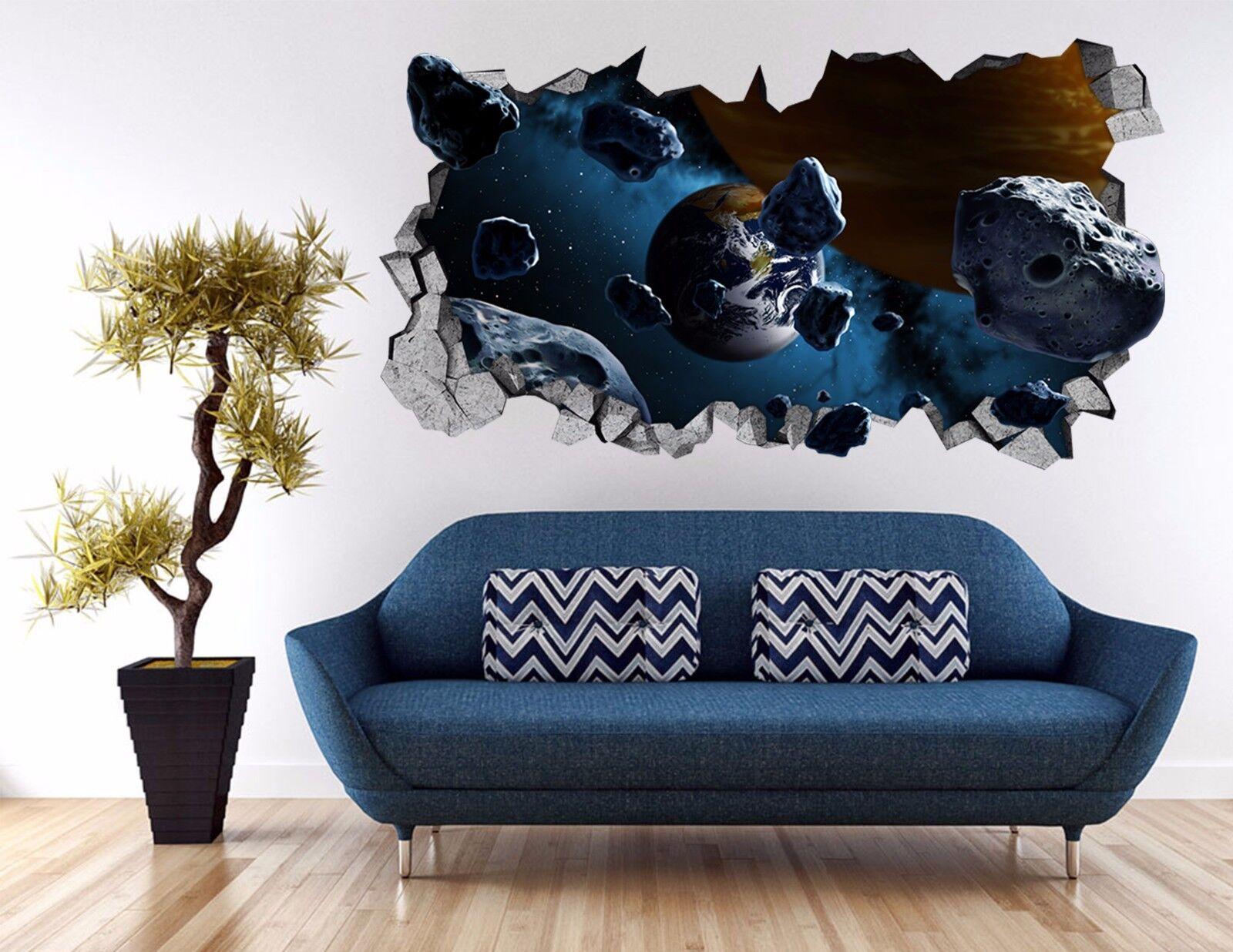 3D Sternplaneten 98 Mauer Murals Mauer Aufklebe Decal Durchbruch AJ WALL DE Kyra