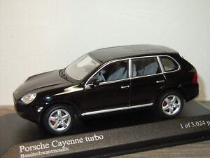Porsche-Cayenne-Turbo-2002-Minichamps-1-43-in-Box-34238