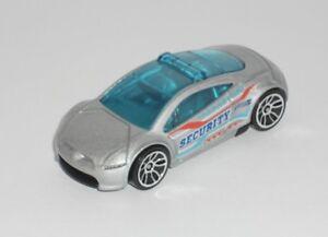 Hot-Wheels-1-Loose-Vehicle-Mitsubishi-Eclipse-Concept-w-Light-Bar-Silver
