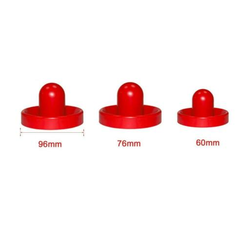 For Game Mini Air Hockey 2 Pusher Goalies 4 Pucks Felt Set On Tables DI