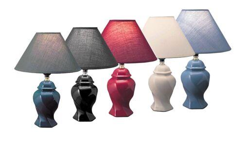 Hongville Bedroom Living Room Decor Ceramic Elegant Vase Design Table Lamp
