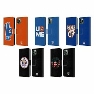 Details about OFFICIAL WWE JOHN CENA LEATHER BOOK WALLET CASE COVER FOR APPLE iPHONE PHONES