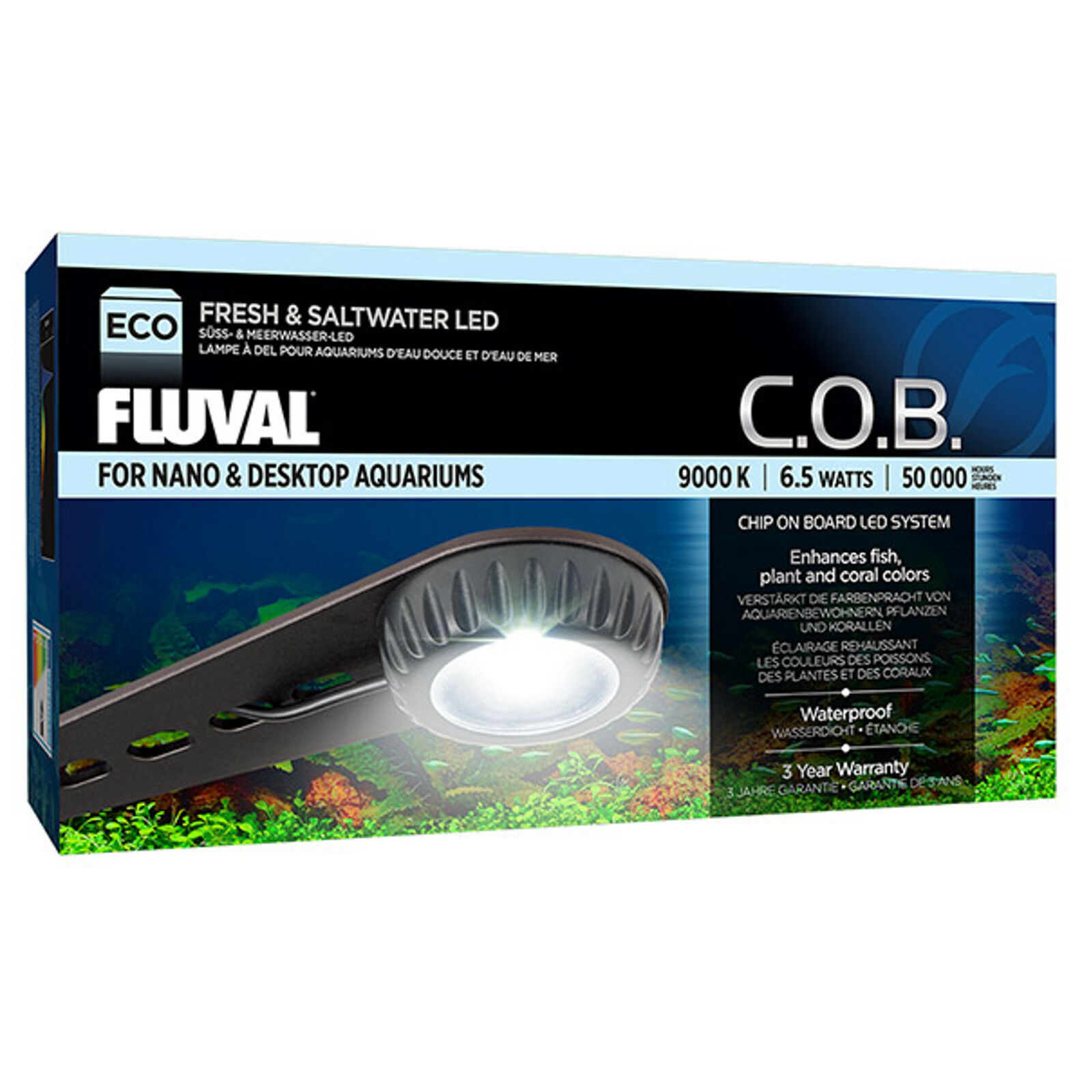 NUOVO FLUVAL COB  p on Board Nano LED 2nd generazione